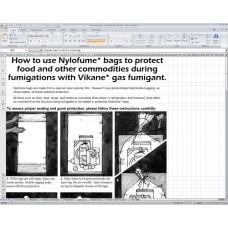 Nylofume Bag Instructions - ENGLISH